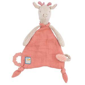 Moulin Roty Doudou Attache Tétine Girafe - Sous mon Baobab - Publicité