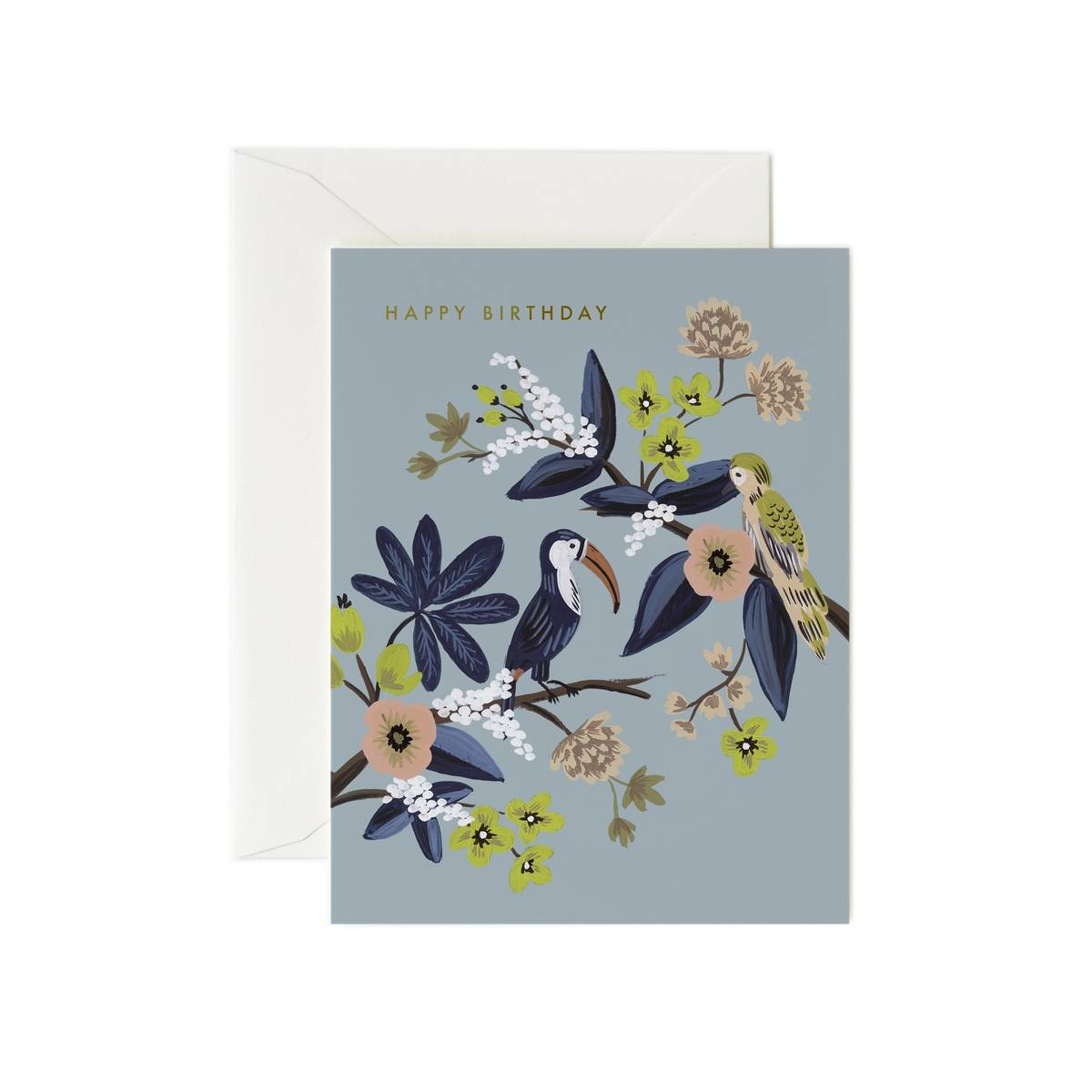 Rifle Paper Co. Carte Double & Enveloppe Toucan