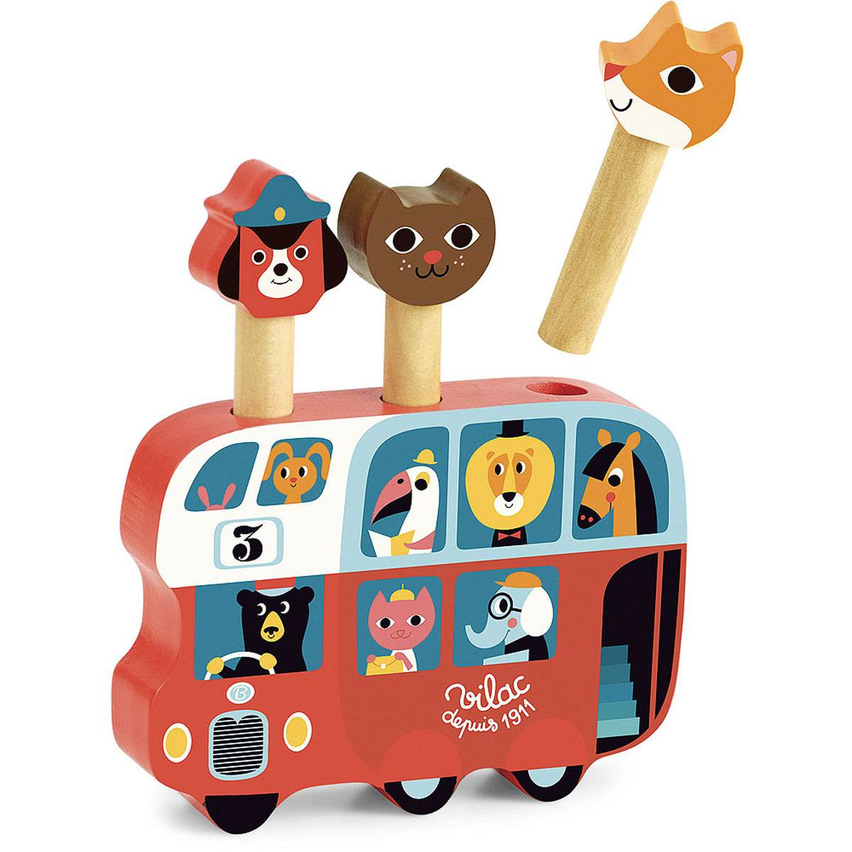 Vilac Pop-Up Autobus par Ingela P. Arrhenius