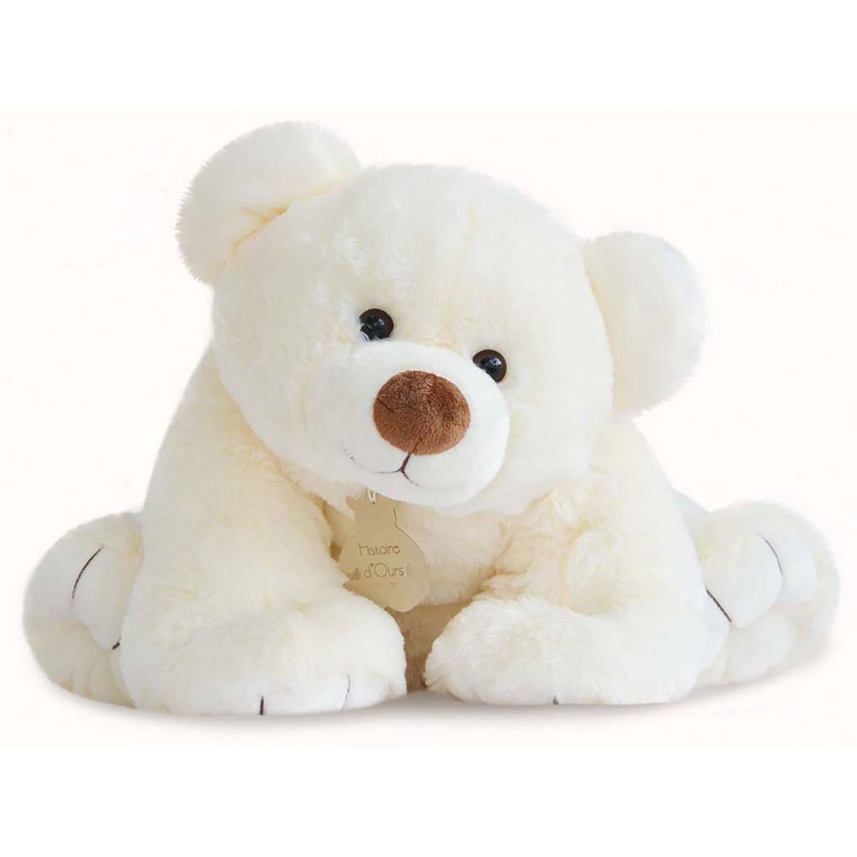 Histoire d'Ours Gros'Ours Ecru - Grand