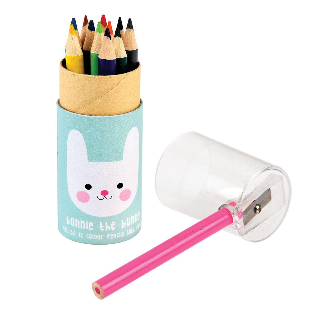 rex crayons de couleurs bonie lapin