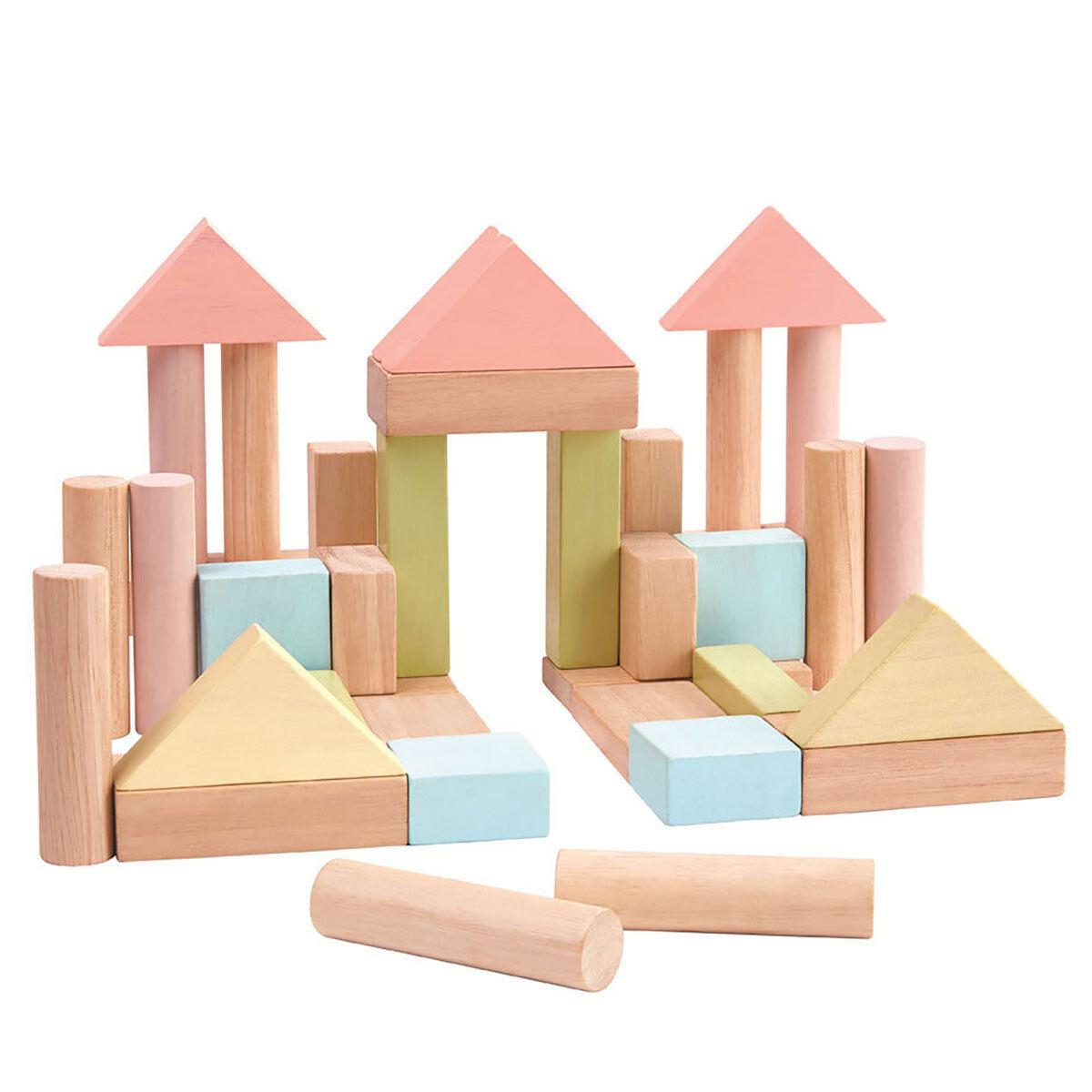Plan Toys Blocs de Construction - Pastel