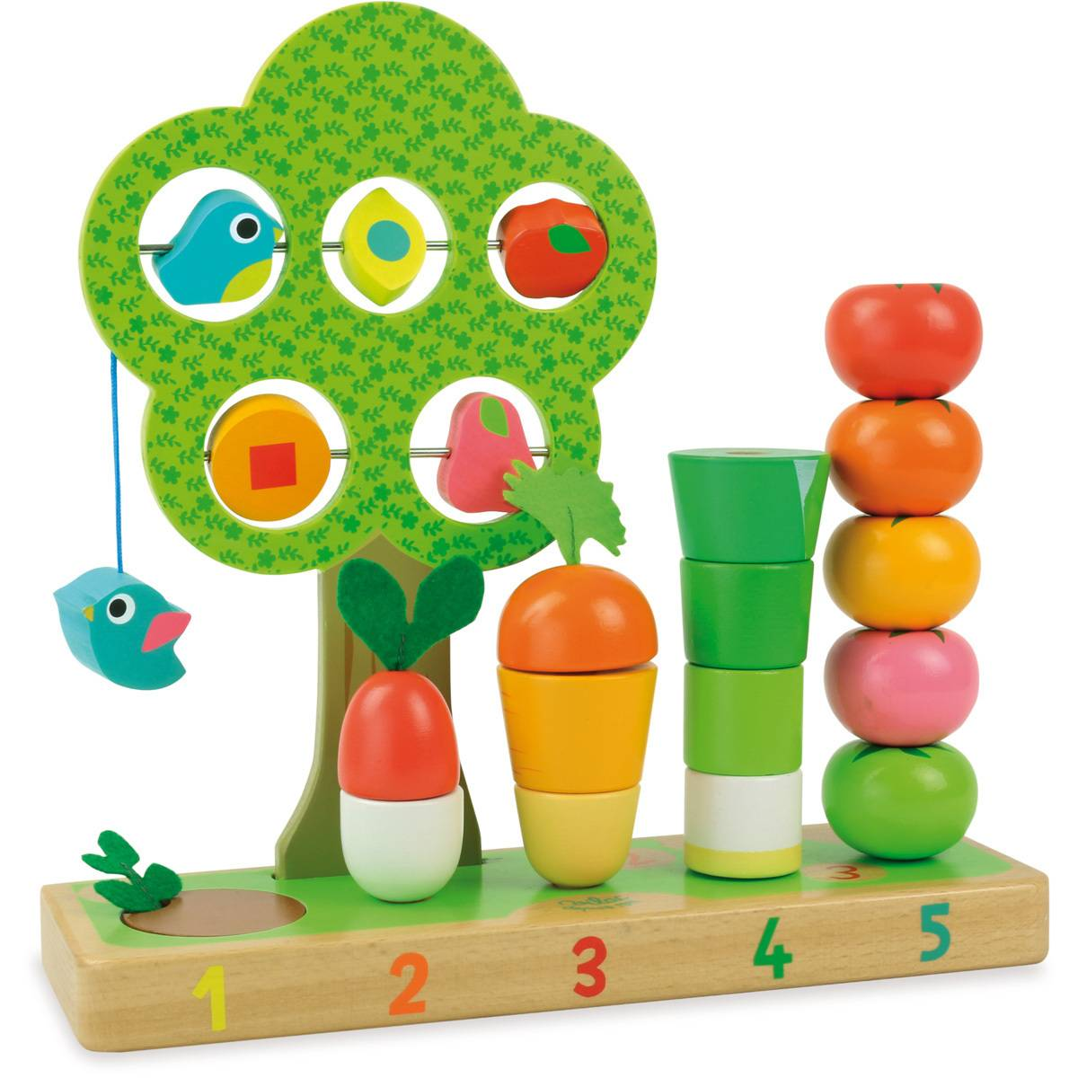 Vilac J'apprends à compter les fruits & légumes