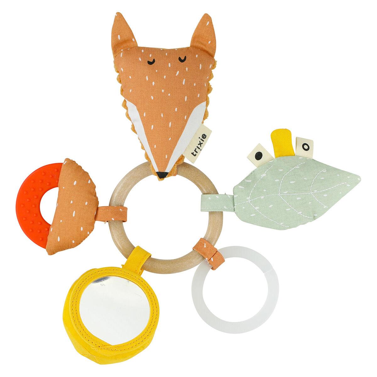 Trixie Baby Anneau d'Activités - Mr. Fox
