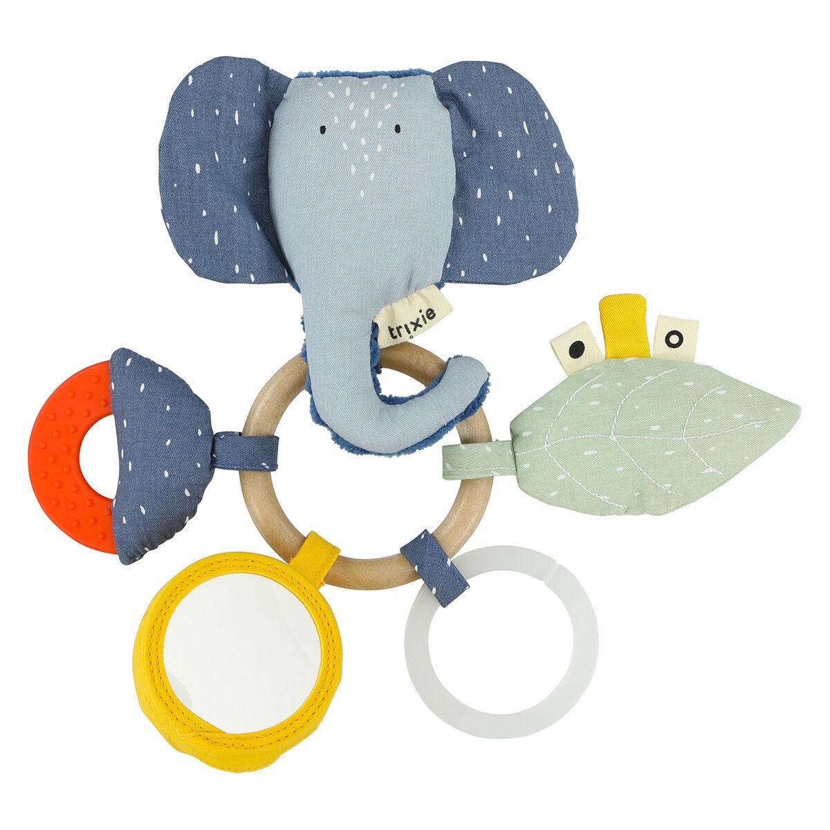 Trixie Baby Anneau d'Activités - Mrs. Elephant
