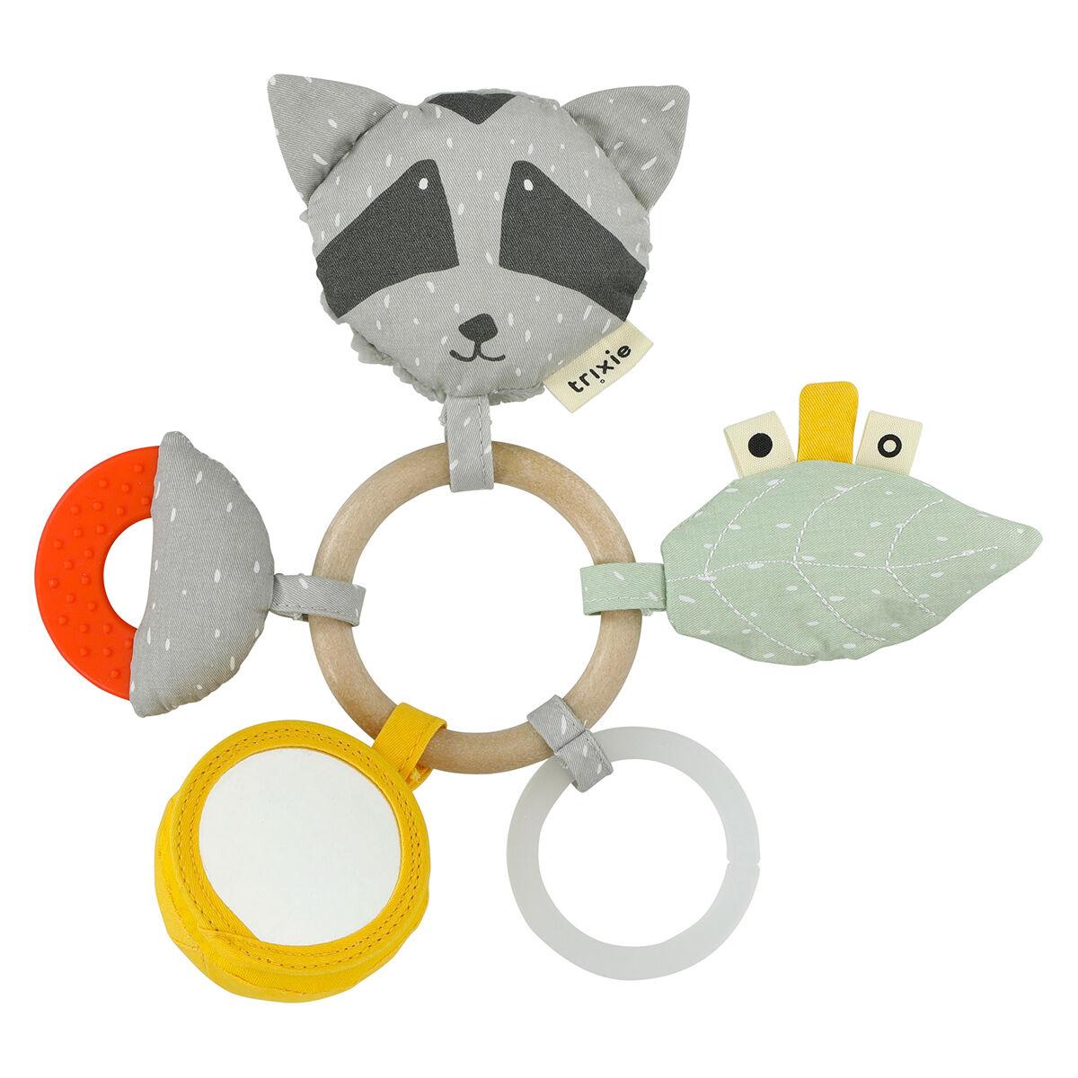 Trixie Baby Anneau d'Activités - Mr. Raccoon