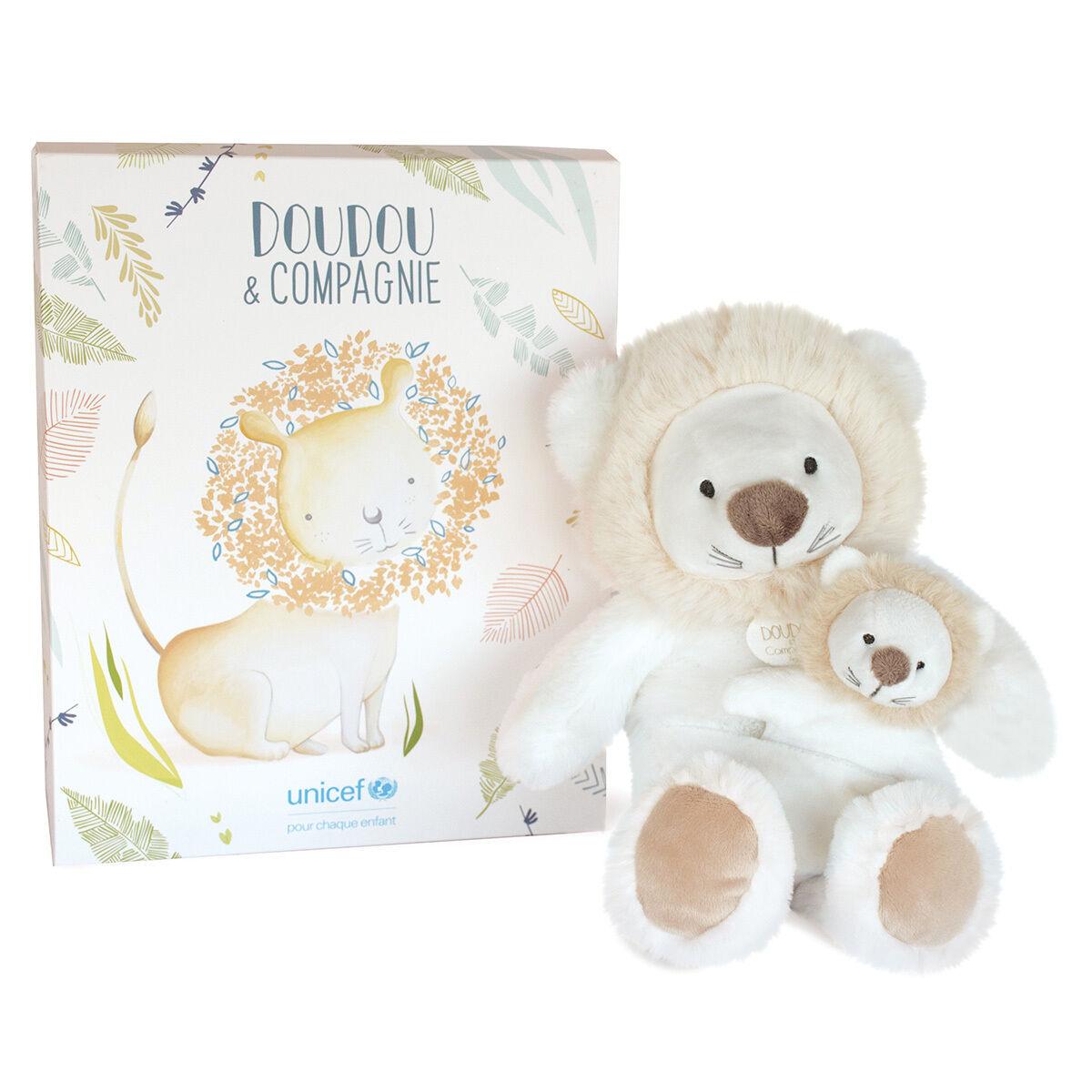 Doudou et Compagnie Peluche Lion UNICEF Bébé & Moi