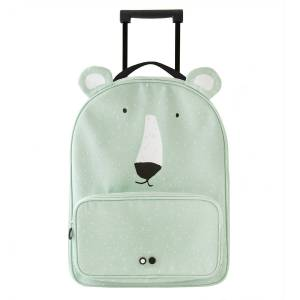 Trixie Baby Valise Trolley Mr. Polar Bear - Publicité