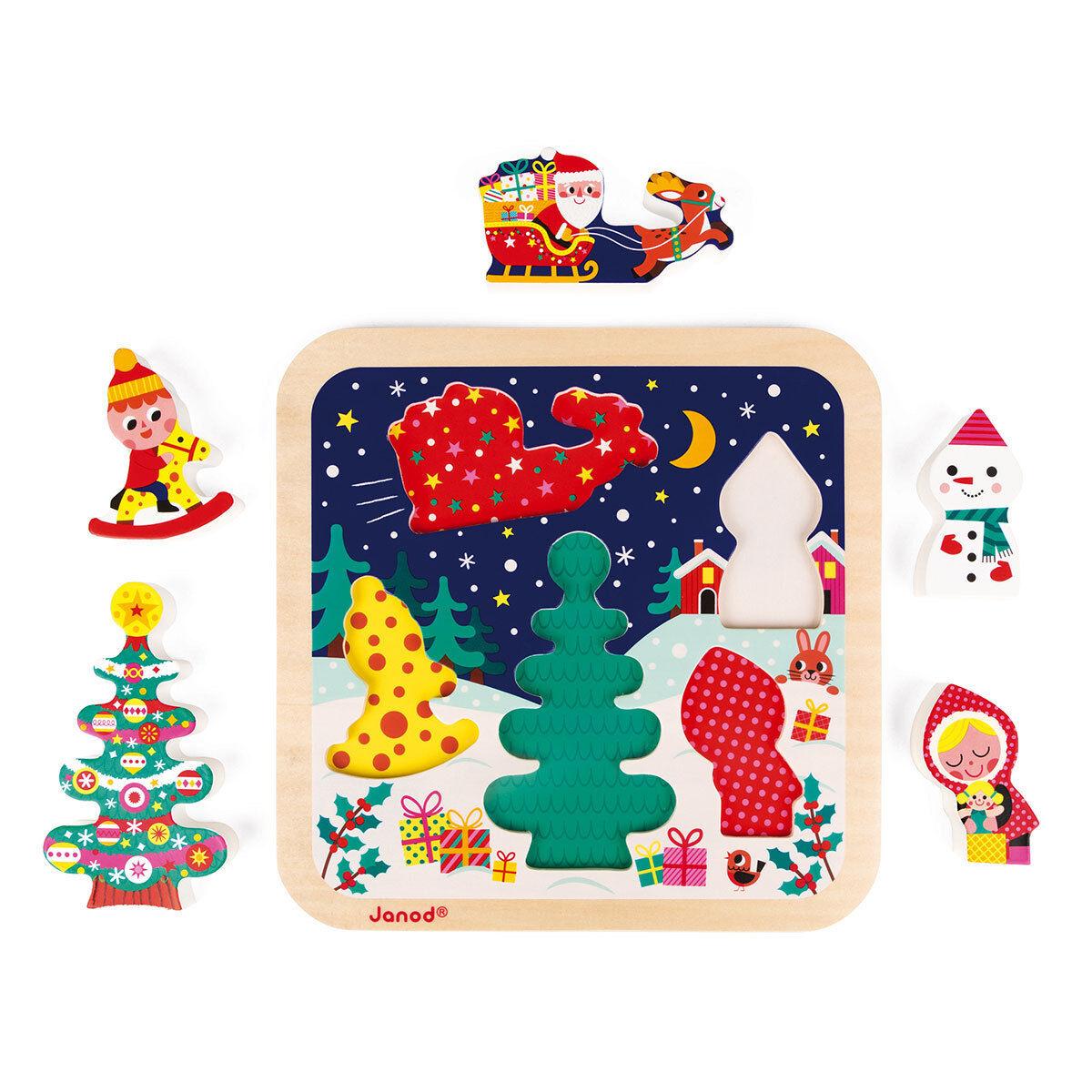 Janod Puzzle La Magie de Noël