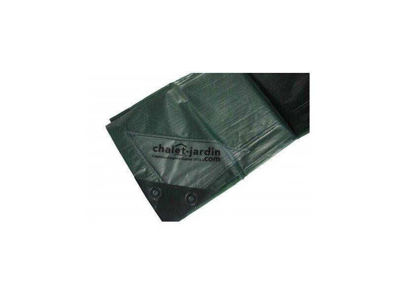 Titanium Bâche de protection ultra résistante 2x3 m - Vert