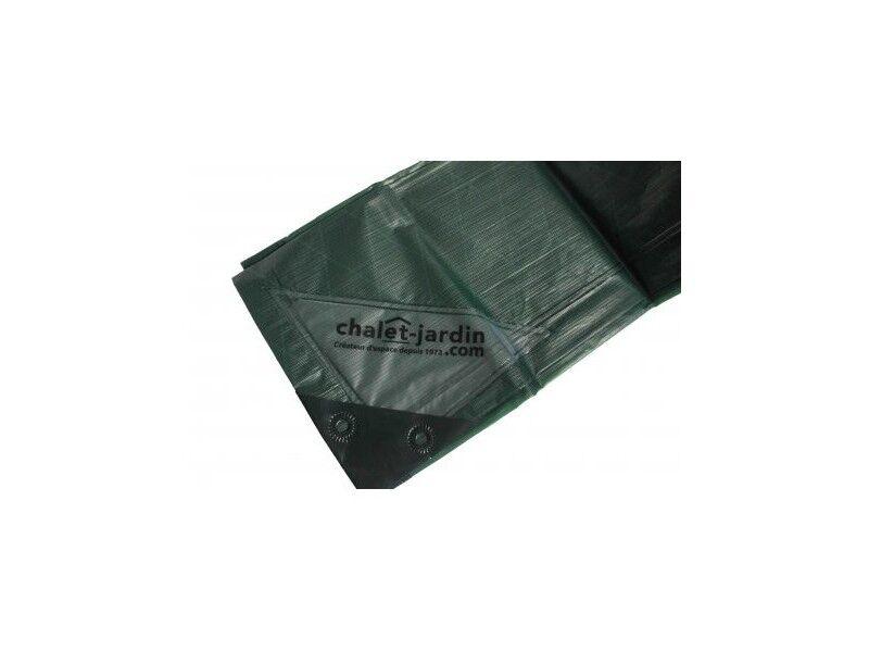 Titanium Bâche de protection ultra résistante 4x6 m - Vert