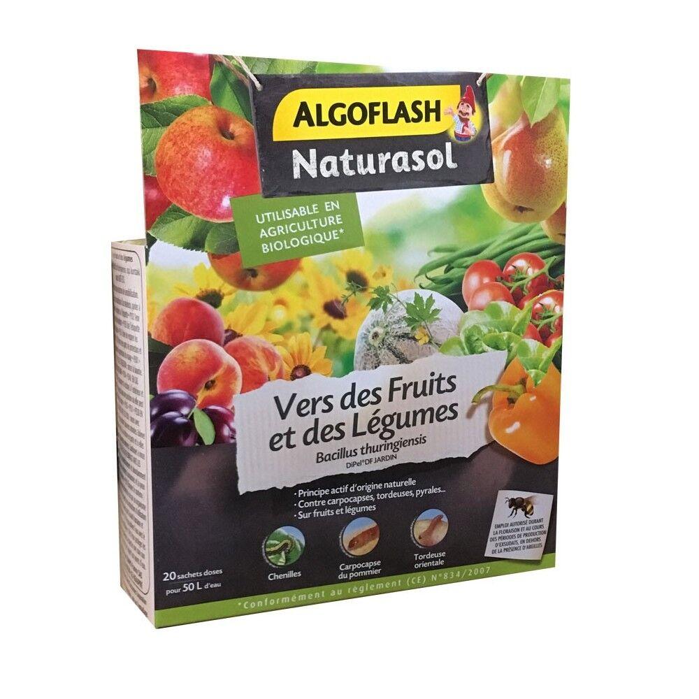 Naturasol Vers des fruits et des légumes Bacillus thuringiensis 50g Naturasol