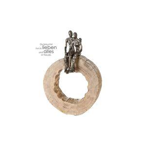 """Sculpture Together, aluminium / manguier """"Casablanca"""""""