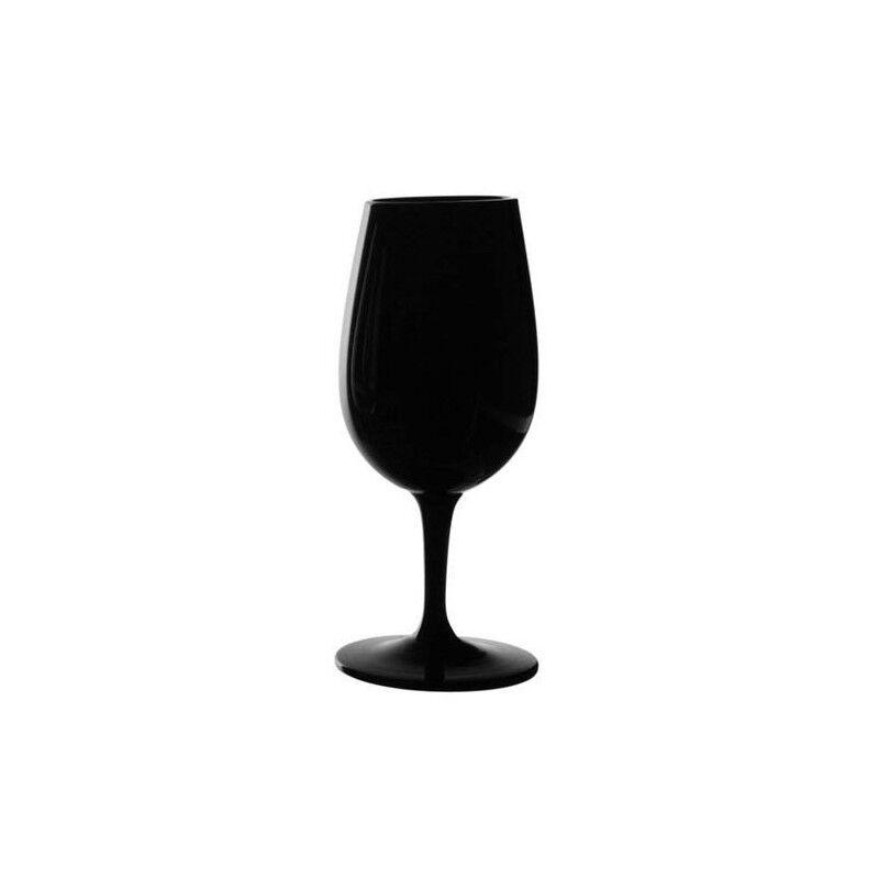 6 verres à vin dégustation INAO noir