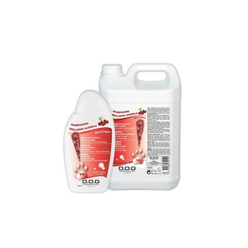 CHADOG DIFFUSION shampoing brillance acerola