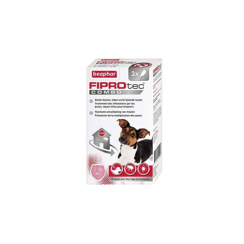 BEAPHAR fiprotec combo, pipettes antiparasitaire pour chien