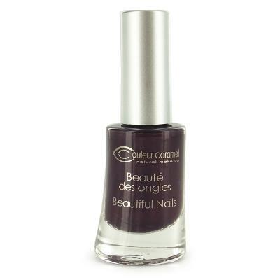 Couleur Caramel - Vernis à ongles n°15- Prune nacré 8ml