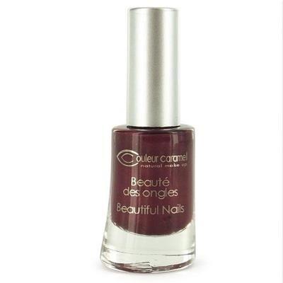 Couleur Caramel - Vernis à ongles n°09- Bordeaux nacré 8ml