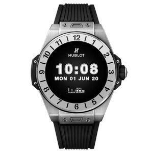 HUBLOT Montre connectée Hublot Big Bang e Titanium bracelet caoutchouc 42 mm