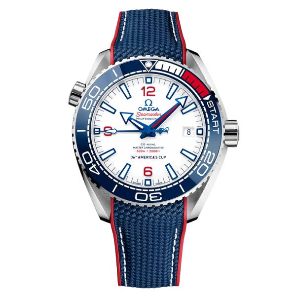 OMEGA Montre Omega Seamaster Planet Ocean 600m Co-Axial Master Chronometer Edition Limitée AMERICA'S CUP 2021 43,5 mm