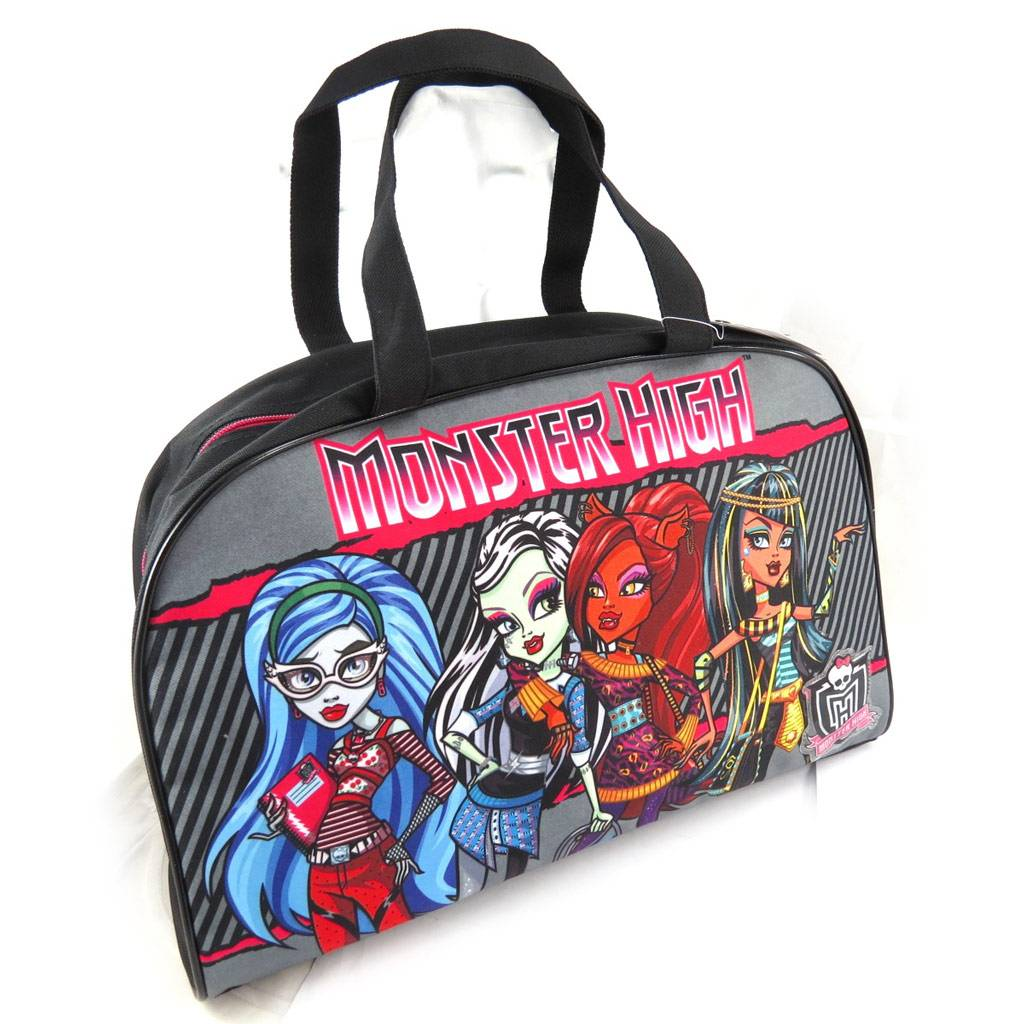 """Monster Cable Sac cabas """"Monster High"""" gris multicolore"""