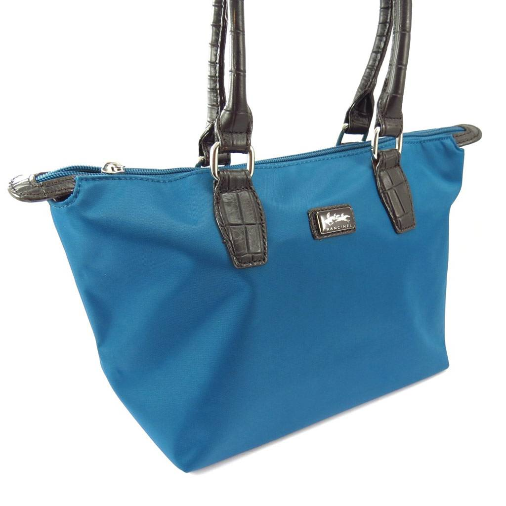 "Francinel Cabas ""Lafayette"" bleu turquoise (S)"