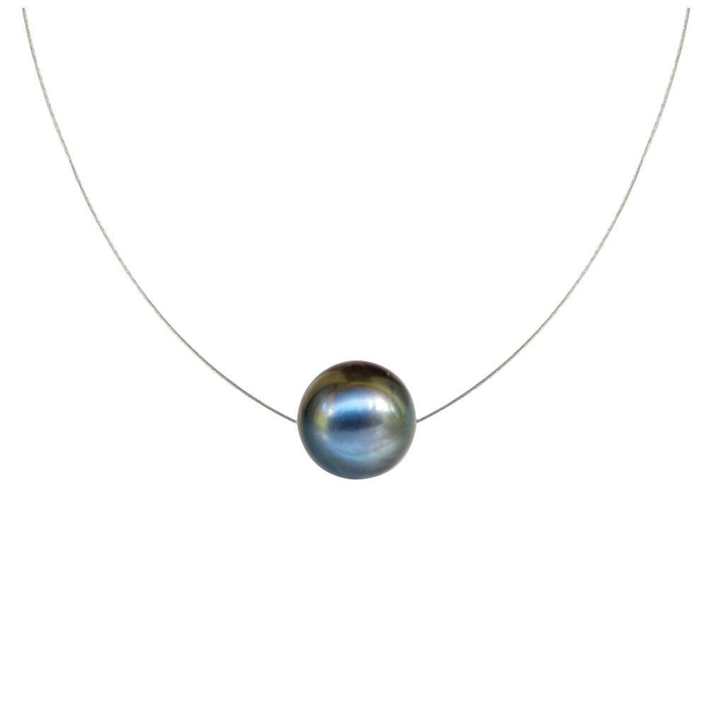 Les Poulettes Bijoux Collier Perle des Poulettes Solitaire 11 mm - Classics
