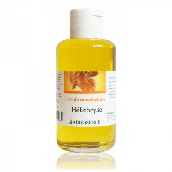 Abiessence Hélichryse (Immortelle) Bio - Huile de macération d'Helichrysum italicum 50 ml - Abiessence