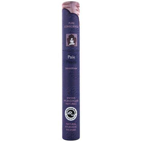 Les Encens du Monde Paix encens indiens - 16 bâtonnets ayurvédiques - Les Encens du Monde