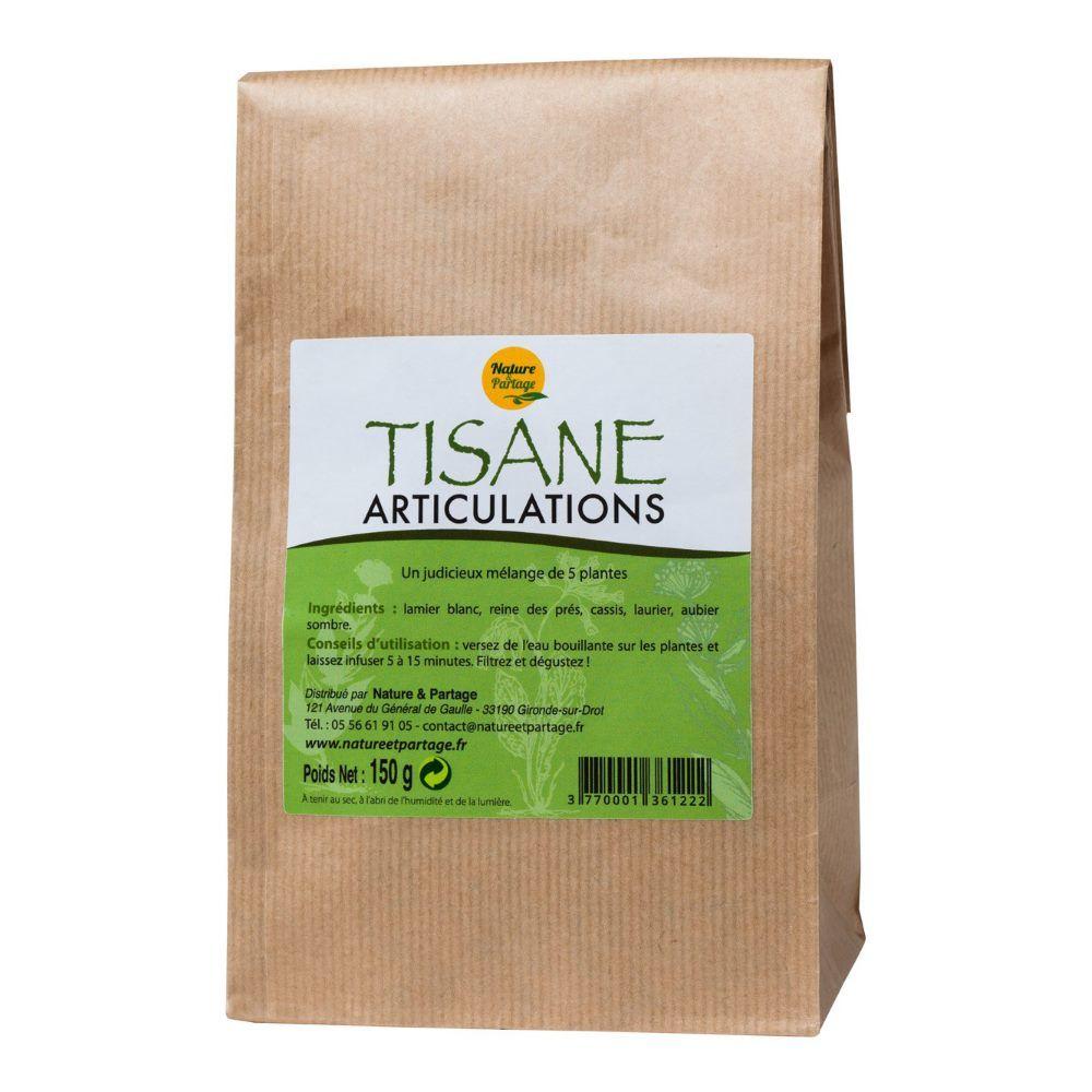 Nature et Partage Tisane Articulations - Tisane 150 grammes - Nature et Partage