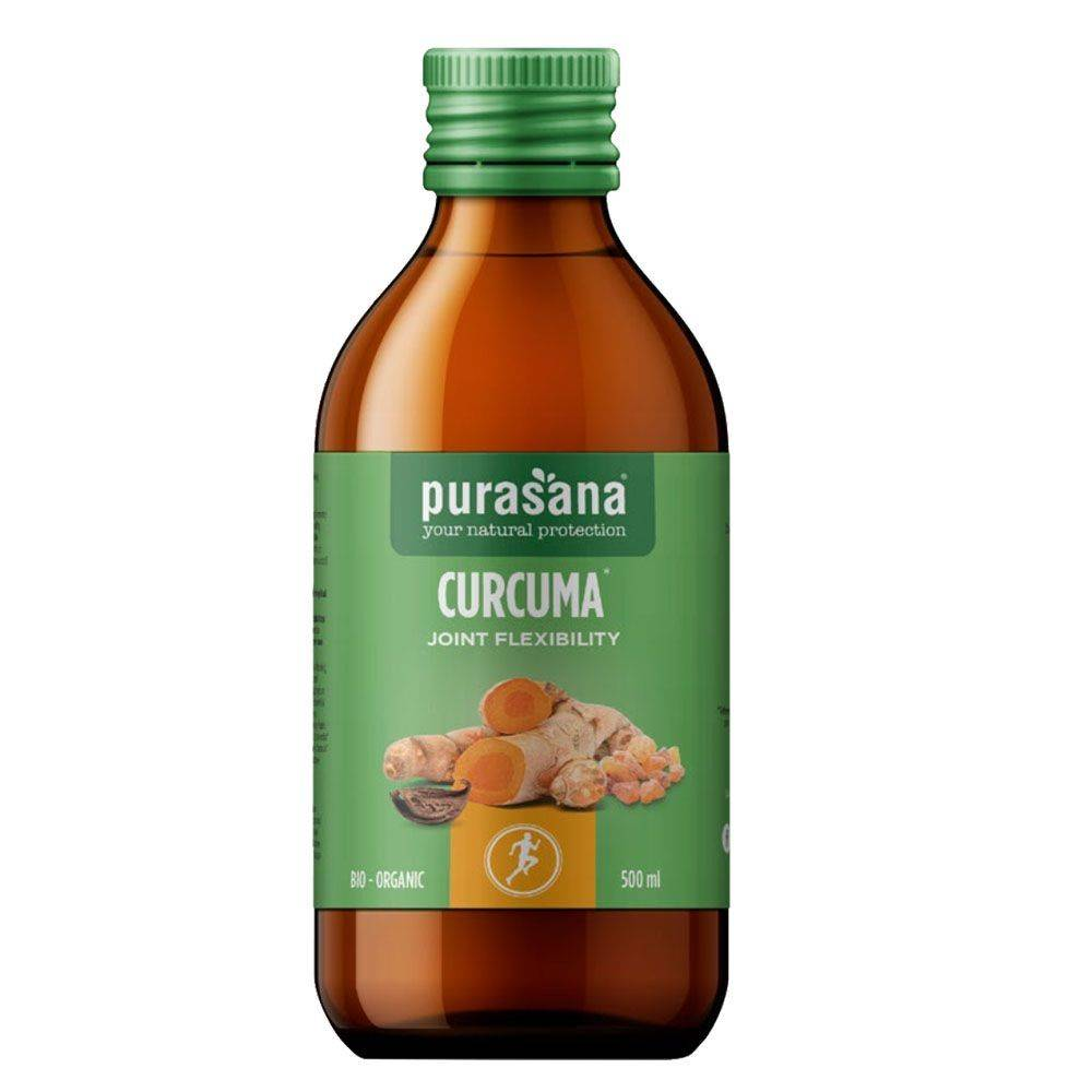 Purasana Curcuma Joint flexibility Bio - Articulations 500 ml - Purasana