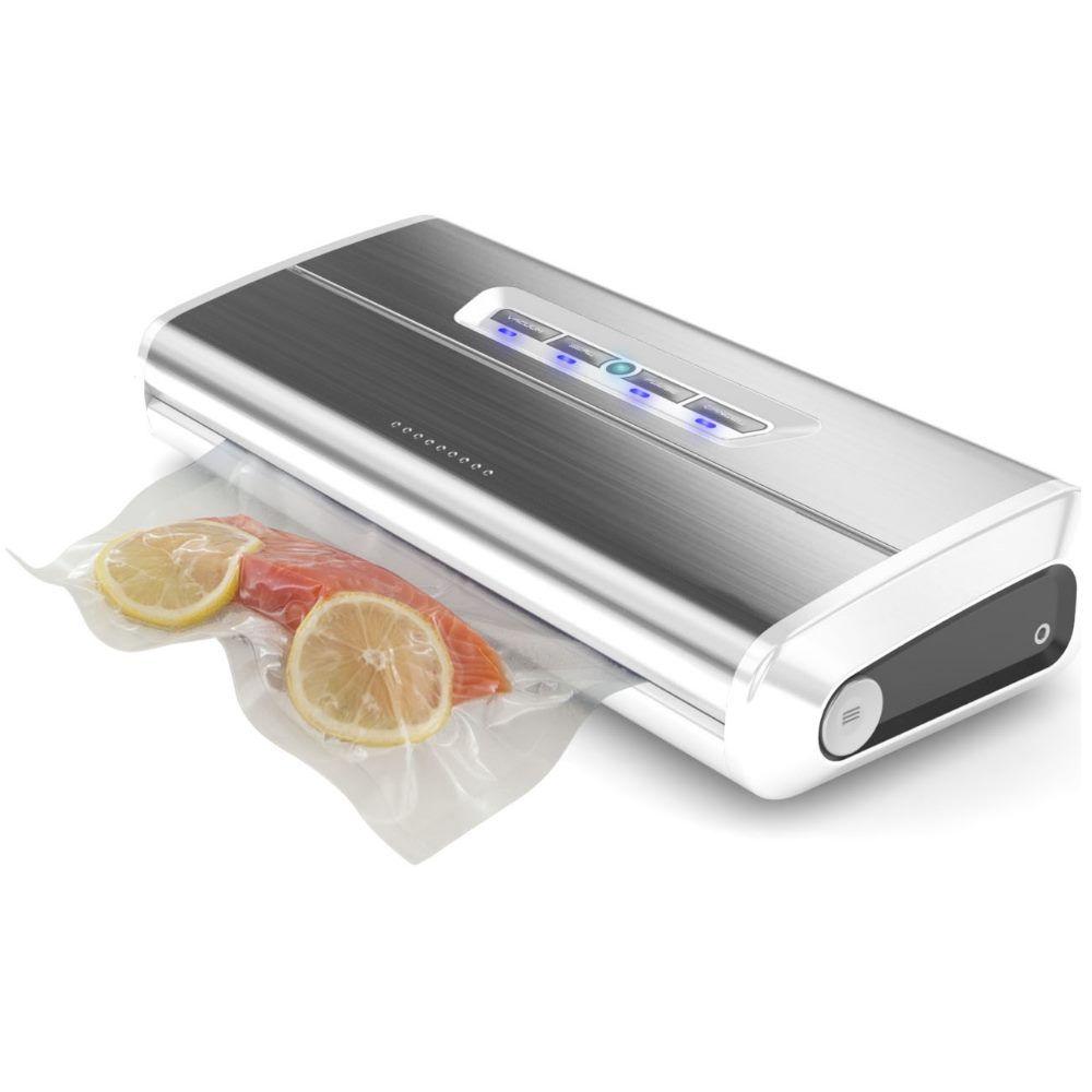 Status Machine sous vide Inox 175 W 650 mb de dépression et aspiration 15 Litres - Foodvac