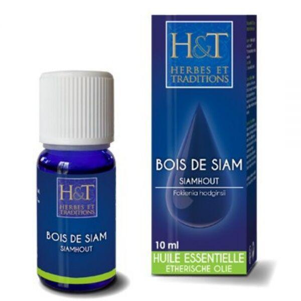 Herbes et Traditions Bois de Siam - Huile essentielle Fokienia hodginsii 10 ml - Herbes et Traditions