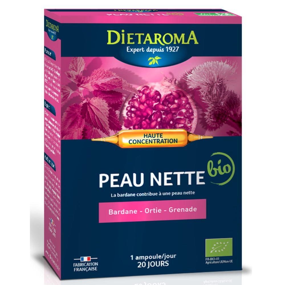 Dietorama C.I.P. Peau Nette Bio - Peau 20 ampoules - Dietaroma
