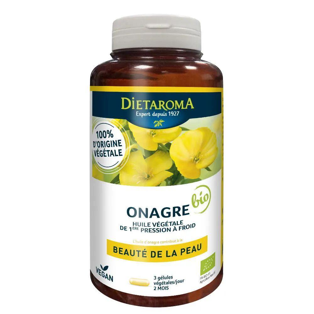 Dietorama Onagre Bio - Beauté de la Peau 180 capsules - Dietaroma