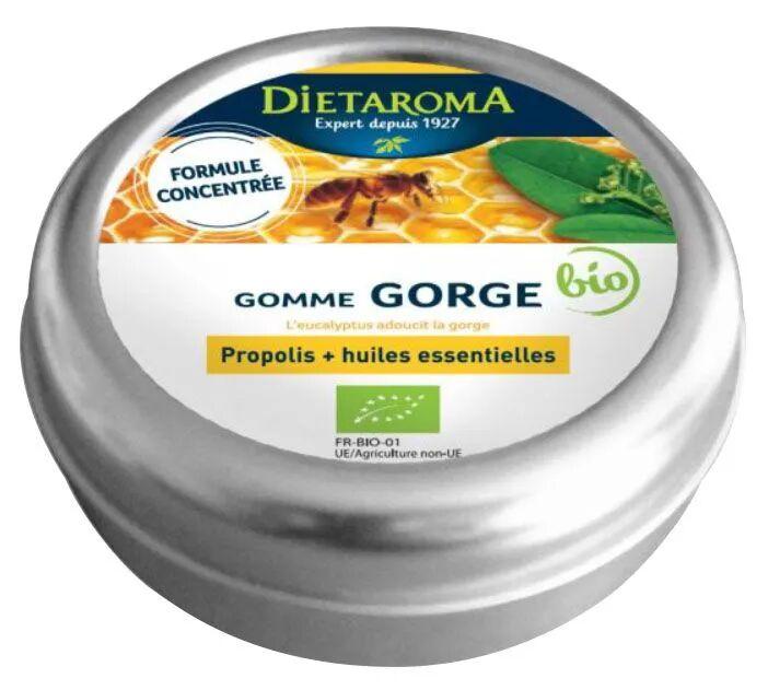 Dietorama Propolis Gommes Bio - Pour la gorge 40 g - Dietaroma