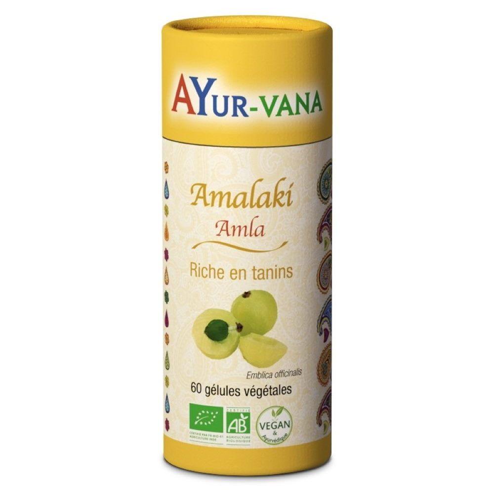 Ayur-vana Amalaki Bio - Tonique 60 gélules - Ayur-Vana