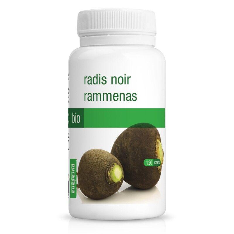 Purasana Radis noir Bio - Digestion 120 gélules - Purasana