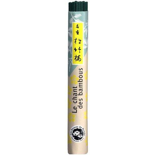 Les Encens du Monde Le chant des bambous encens japonais - 40 bâtonnets - Les Encens du Monde