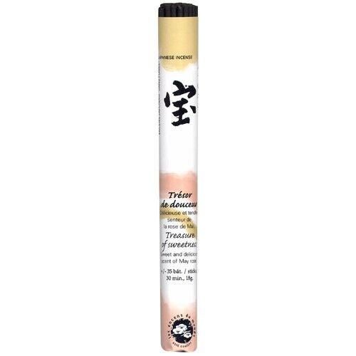 Les Encens du Monde Trésor de Douceur encens traditionnel Japonais - 35 bâtonnets - Les Encens du Monde