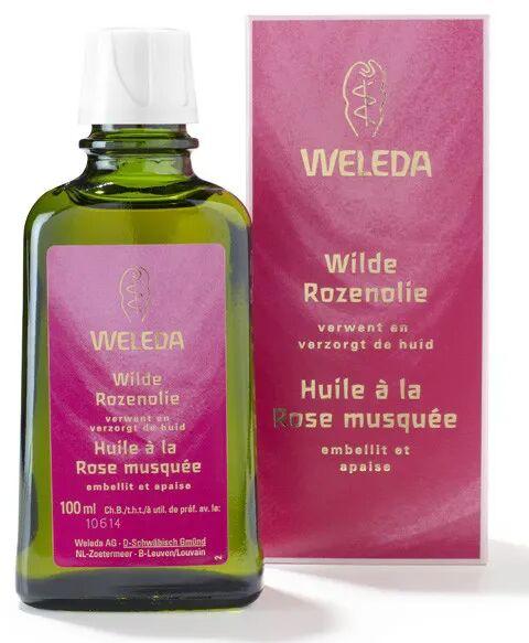 Weleda Huile harmonisante à la Rose musquée - Embellit et apaise 100 ml - Weleda