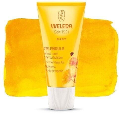 Weleda Crème Plein Air au Calendula pour Bébé - Protection intensive 30 ml - Weleda