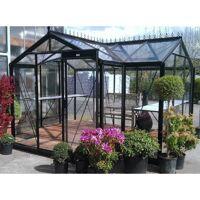 ACD Orangerie La serre d'Aurélie 10,26m² aluminium et verre trempé 4mm avec embase  ACD Prestige Live <br /><b>4295 EUR</b> Ma Serre de Jardin