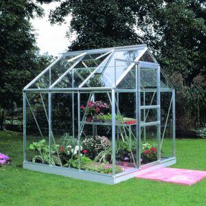 Halls Serre de jardin 3,8m² en aluminium et verre horticole Popular - Halls - Publicité