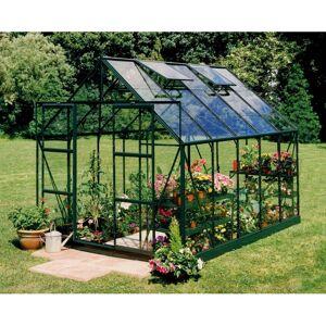 Halls Serre de jardin 8,3m² verte en verre trempé Magnum - Halls - Publicité