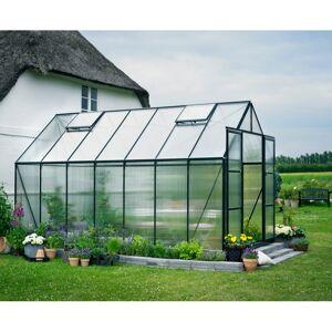 Halls Serre de jardin 11,5m² verte en polycarbonate 6mm Magnum - Halls - Publicité