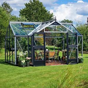 Juliana Serre Orangery aluminium et verre trempé 15,2m² Juliana - Publicité