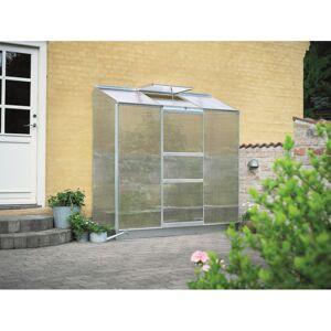 Halls Serre adossée 1,33m² alu et polycarbonate 4mm Altan Halls - Publicité