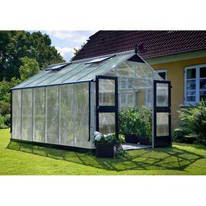 Juliana Serre de jardin 13m² aluminium et polycarbonate 10mm Premium  Juliana - Publicité