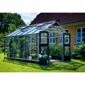 Juliana Serre de jardin 13m² aluminium et verre trempé Premium - Juliana - Publicité